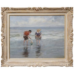 Charles Paul Gruppe, Children Playing