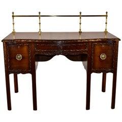 19th Century Irish Mahogany Sideboard
