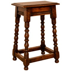 19th Century Tall Joint Stool