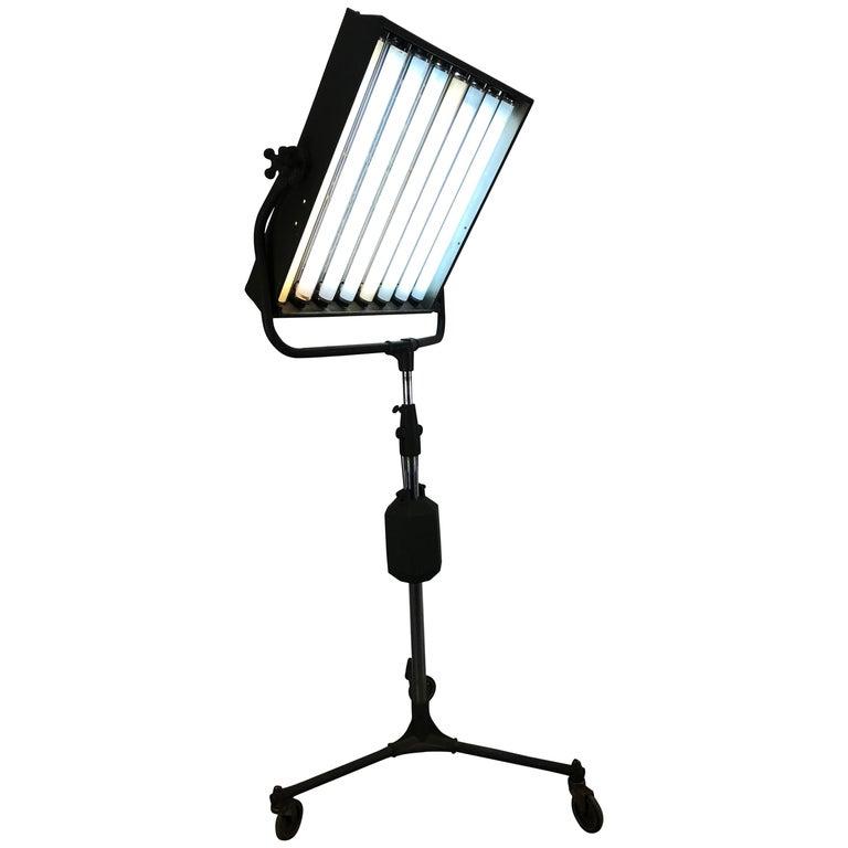 Industrial Photo Adjustable Floor Lamp Beattie's Hollywood Hi-Light Company