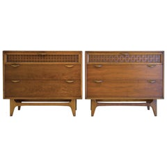 Set of 2 Bachelor Chests by Warren Church for Lane