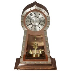 Arts and Crafts Copper 400 Day Clock
