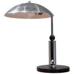 Bauhaus Period Chrome Desk Lamp by KMD Daalderop