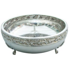Early 20th Century Arts & Crafts Silver Bowl. by a E Jones, Birmingham, 1919