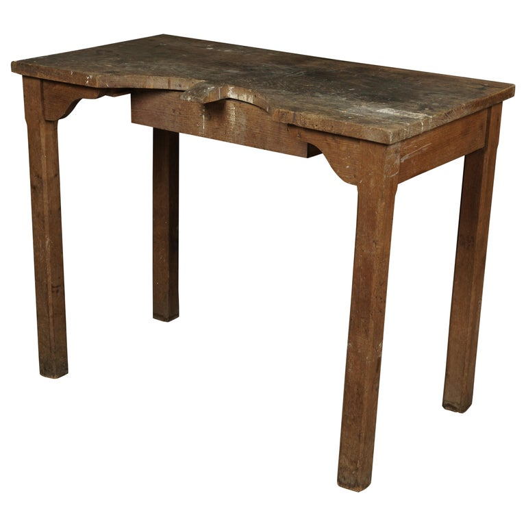 Rare Jewelers Table From France, circa 1940 For Sale