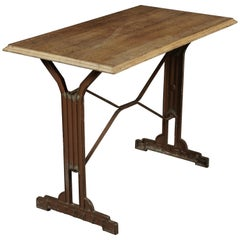 French Bistro Table, circa 1950