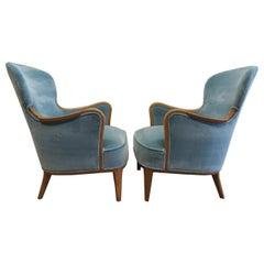 Carl Malmsten Easy Chairs
