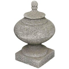 1920s Large Stone Finial