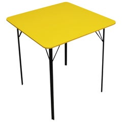 Yellow Midcentury Dining Table