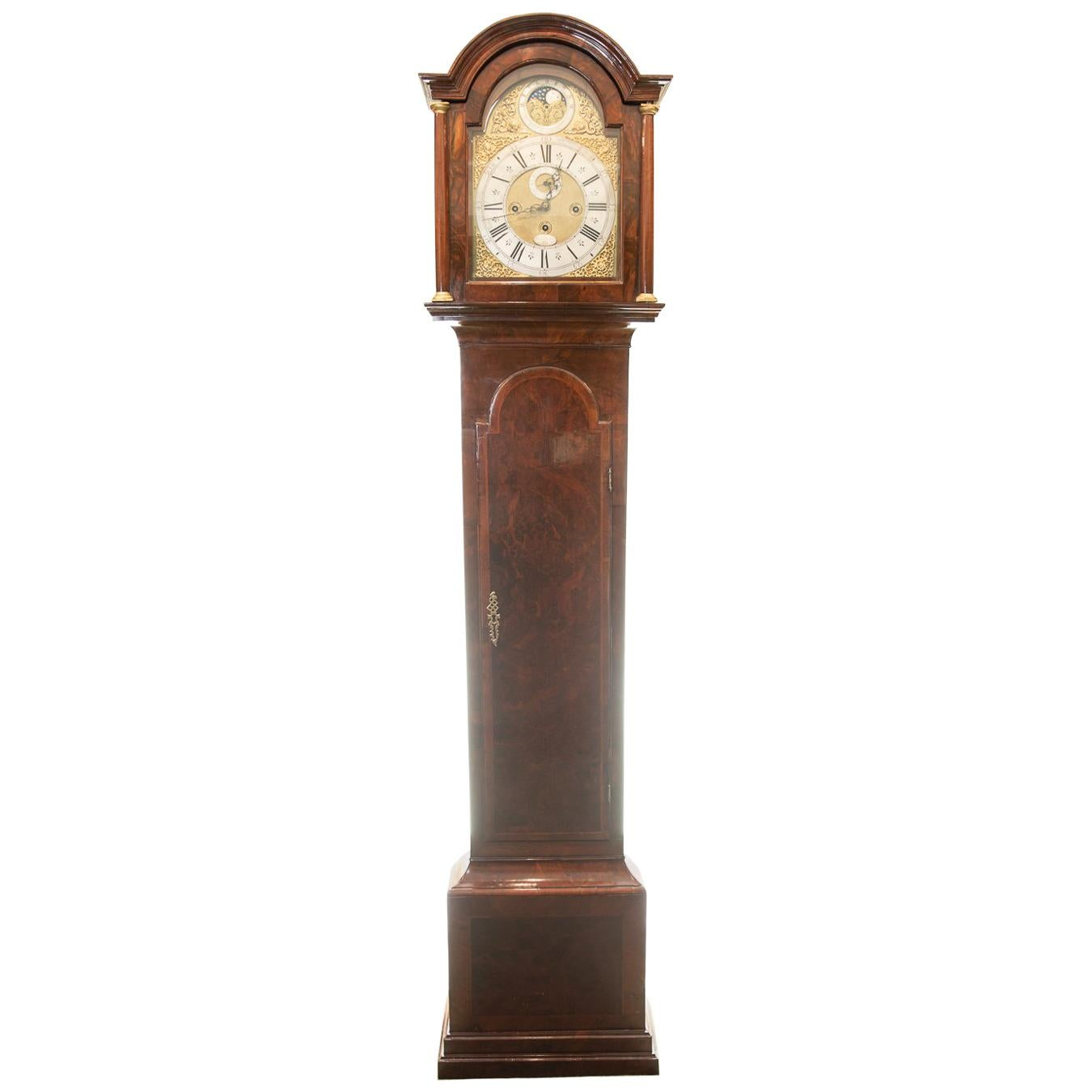 18th Century 8 Day Original Hour Striking, Quarter Chiming Longcase Clock