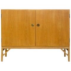 Børge Mogensen Oak China Cabinet, Model 232