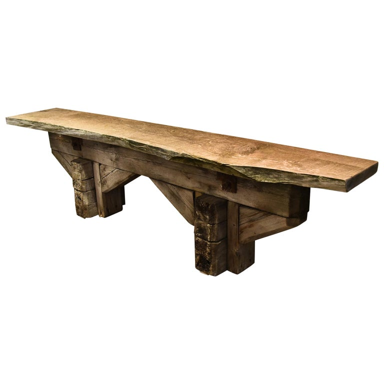 French Work Shop Table For Sale