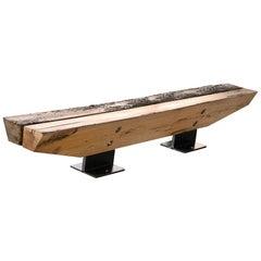 Raw Cedar or Raw Oak Double Bench
