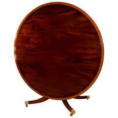 Late 19th Century Large Tilt-Top Table