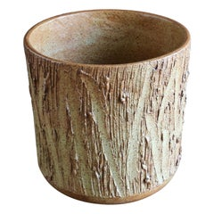 "David Cressey ""Scratch"" Texture Planter for Architectural Pottery"