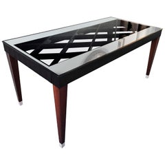 Italian Mid-Century Rosewood Dining Table attributed to Paolo Buffa, 1950s