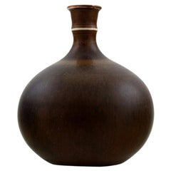 Stig Lindberg, Gustavsberg Studio Hand, Ceramic Miniature Vase