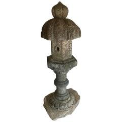 19th Century Temple Stone Lantern