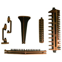 Series of Wood Pattern Molds for Industrial Parts