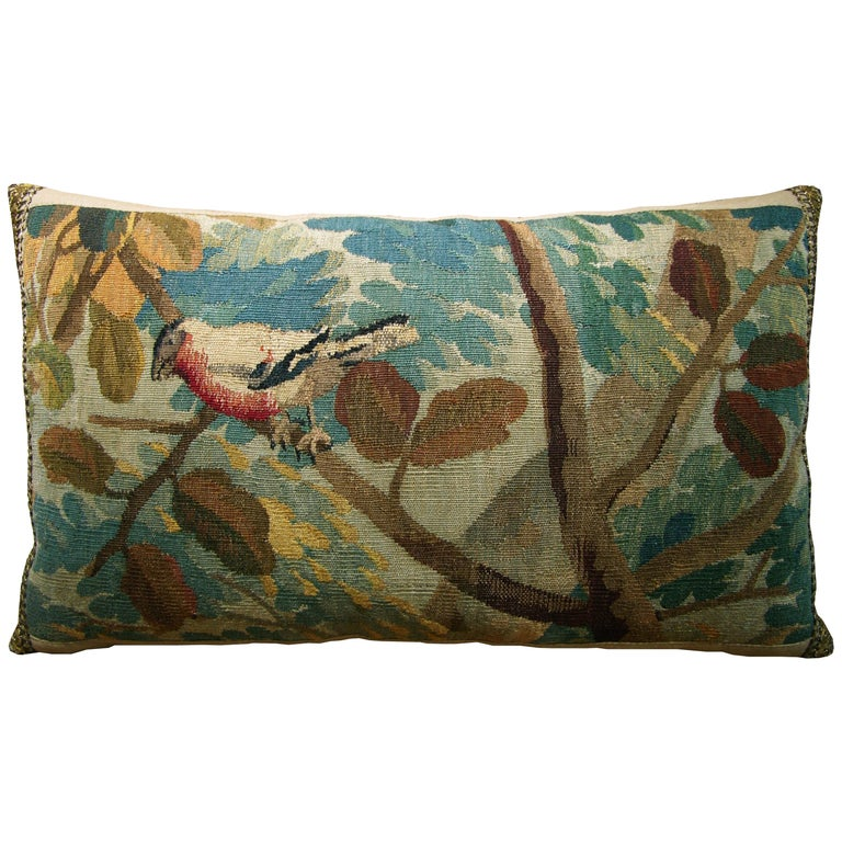 Brussels Baroque a Tapestry Pillow, circa 17th Century 1710p :  Y & B Bolour For Sale