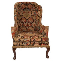 George II Wing Chair, England, circa 1750