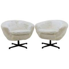 Midcentury Swivel Chairs, 1970s
