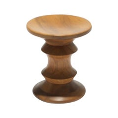 Vintage Time Life Walnut Stool