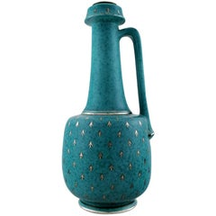 Wilhelm Kåge/Kage, Gustavsberg, Argenta Art deco Large Vase or Bottle