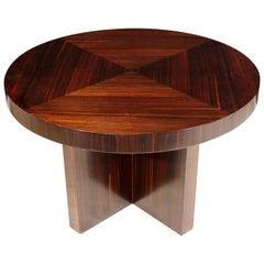 Art Deco Coffee Table in Macassar Ebony