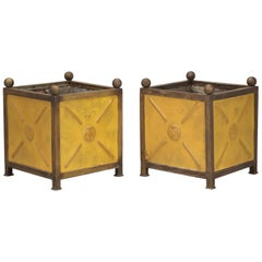 French Orangerie Jardinière Planters from the South of France, Vintage