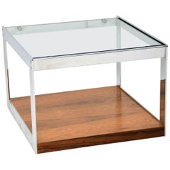 Chrome Coffee Table by Merrow Associates