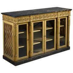 George IV Giltwood Side Cabinet