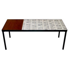 Roger Capron, Iconic Low Table, Vallauris, France, circa 1960
