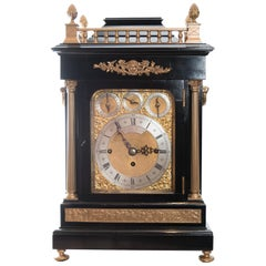 19th Century 8 Day Director's Board Room Clock by Sir John Bennett of London