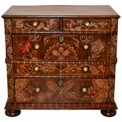18th Century English Painted Chest of Drawers