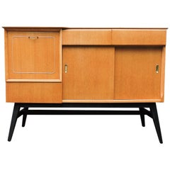 Midcentury Light Oak Sideboard from Beautility, 1960s