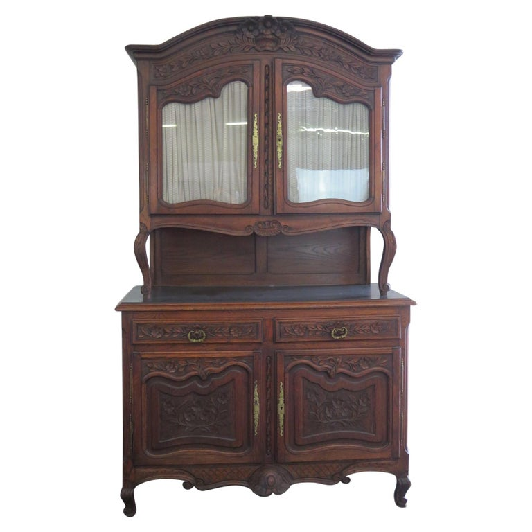 Louis XV Style Normandy Cupboard For Sale