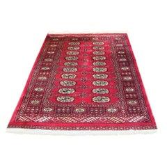 Vintage Persian Silk Area Rug