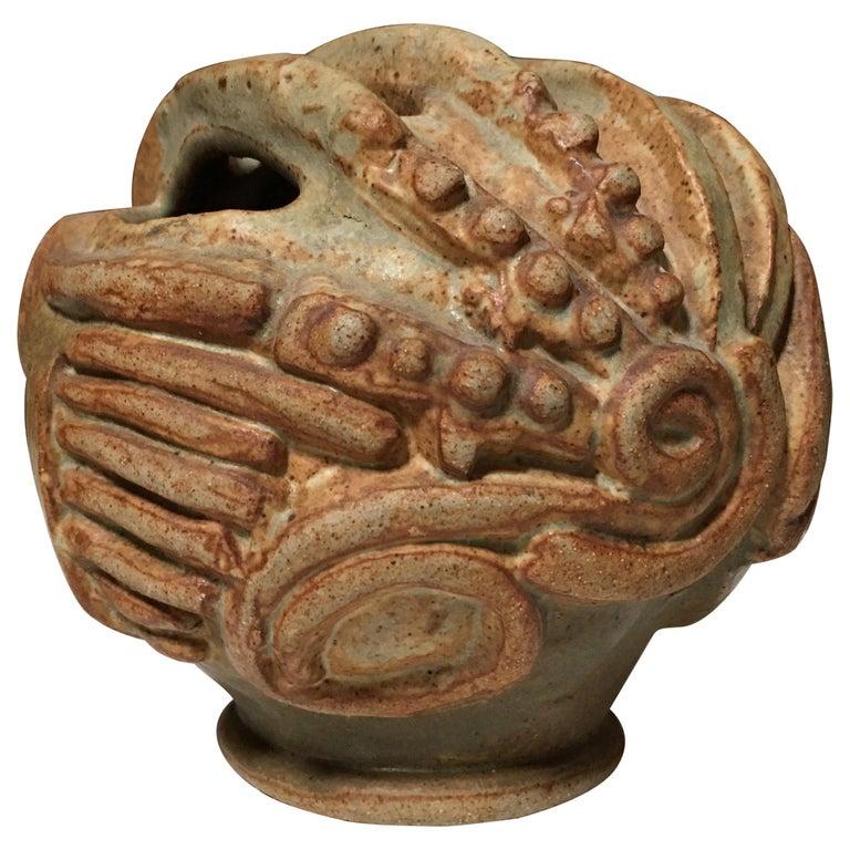 Squat Vase by Bernard Rooke