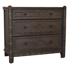 19th Century French Painted Chest