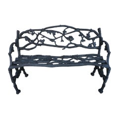 Mid-19th Century English Iron Garden Bench