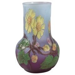 Burgun & Schverer French Art Nouveau Vase