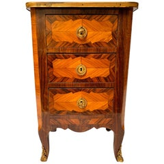 18th Century Rosewood and Kingwood Commode