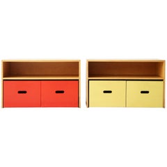 Pair of Cabinets from the Rand House by Aino Aalto for Artek Finland