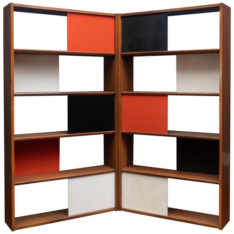 Evans Clark Room Divider or Bookshelf for Glenn of California For Sale