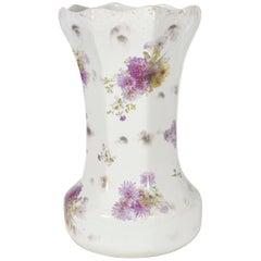 Tall English Porcelain Umbrella Stand / Cane Holder