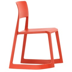 Vitra Tip Ton Chair in Poppy Red Shades by Edward Barber & Jay Osgerby