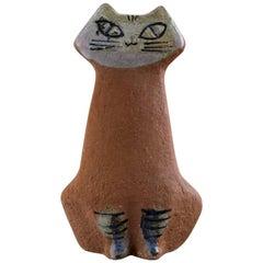 Lisa Larson for Gustavsberg, Stoneware Figure of Sitting Cat