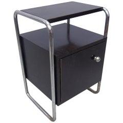 Black Modernist Bedside Cabinet