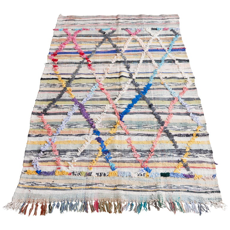 Colourful Kelim Rug For Sale